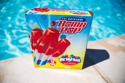 Bomb Pop at the Pool