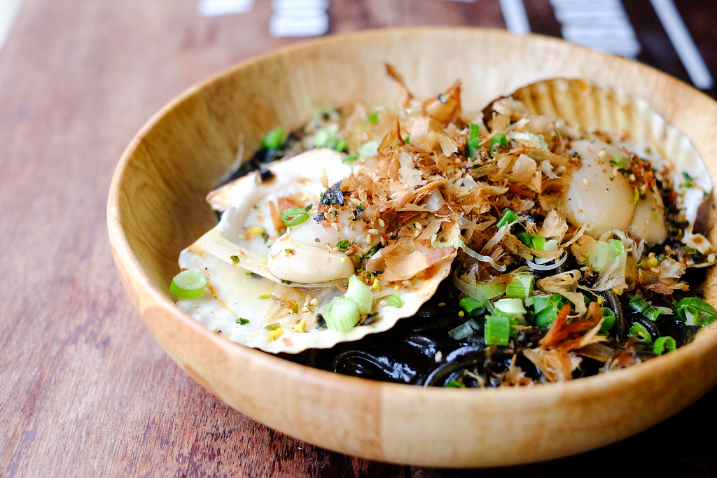 By The Fire's Squid Ink Pasta