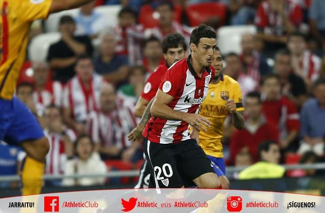 SuperCopa de España (Ida): Athletic Club de Bilbao 4 - FC Barcelona 0