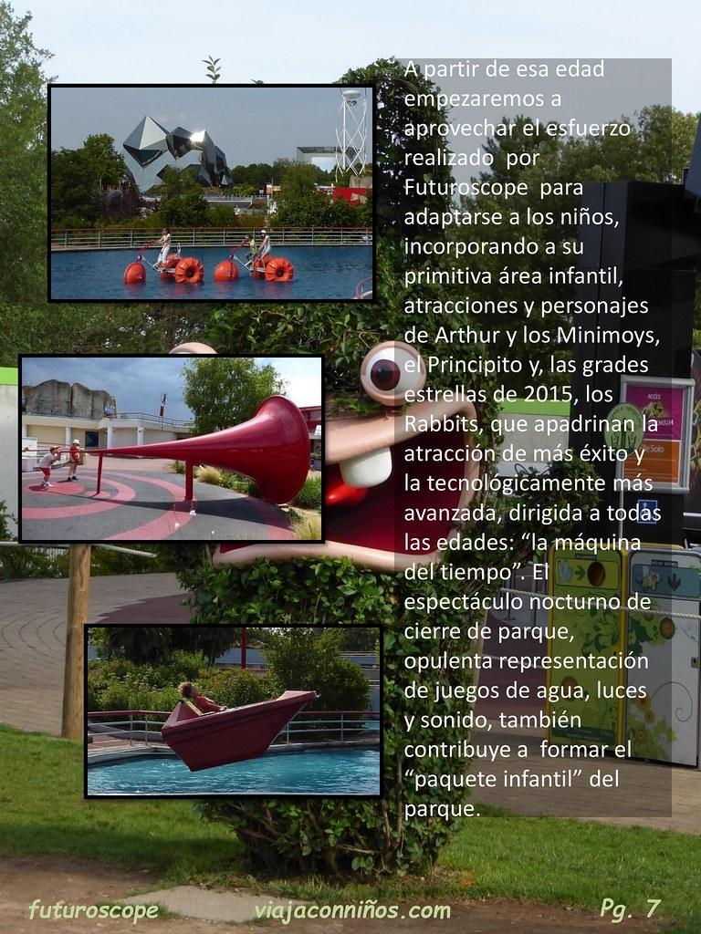 Futuroscope, el parque del futuro.