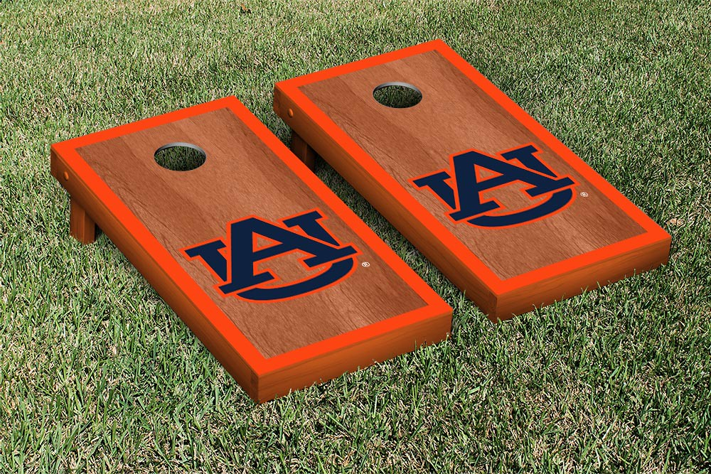 Auburn Tigers Rosewood Border Board