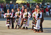 Eine der rund 10 Tanzgruppen kommt aus der Nachbargemeinde Becicherecu Mic und  bekam mit ihren ballettartigen serbischen Volkstänzen viel Applaus.