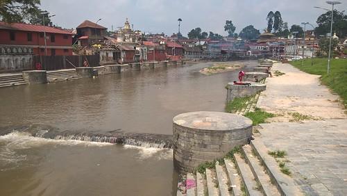 El río de Pashupatinath