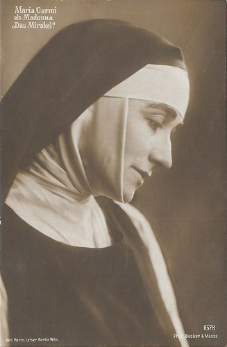 Maria Carmi in Das Mirakel (1912)