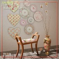 Trowix - Shabby Wall Heart HookMP1