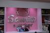 inside the Sanrio Surprises store, Orlando International Airport, Florida
