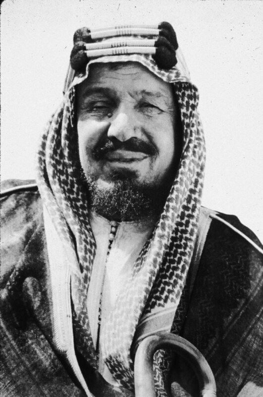 Ibn Saud, the King of Nejd and Hejaz