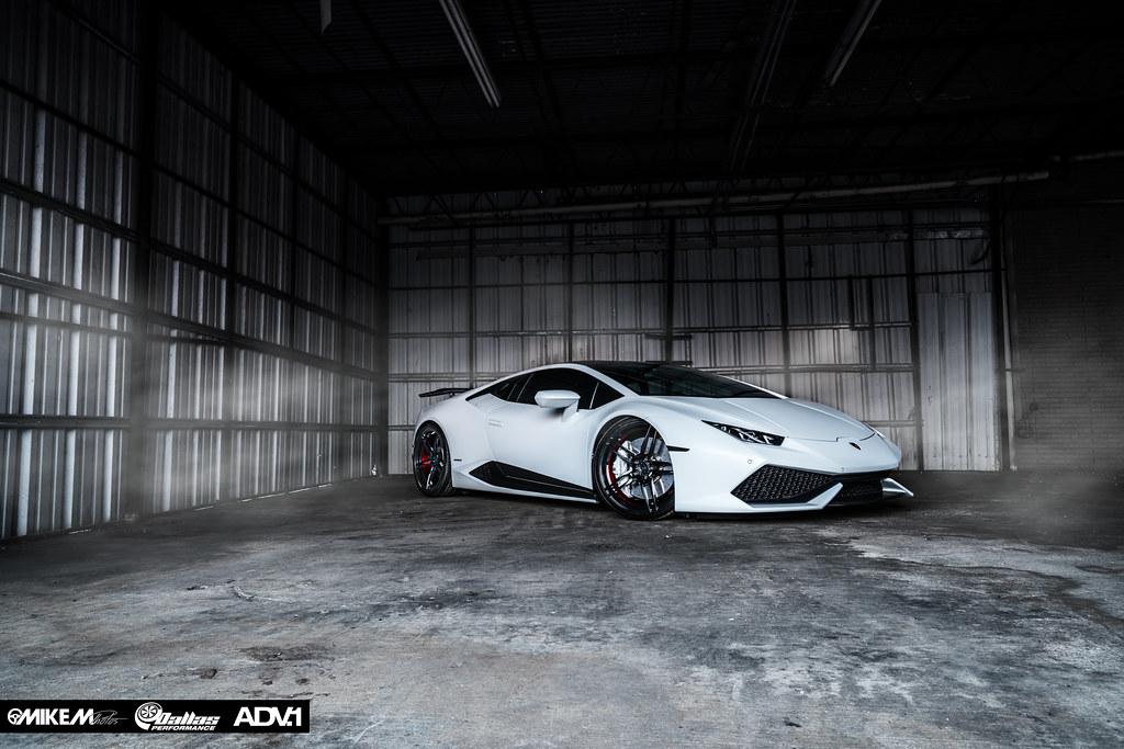 dallas performance matte white huracan - Lamborghini Huracan Matte White