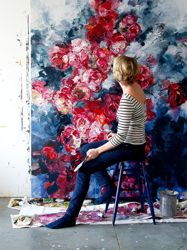 Floral Paintings by Bobbie Burgers