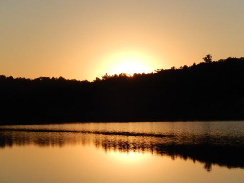 Killarney PP - sunset bij George Lake