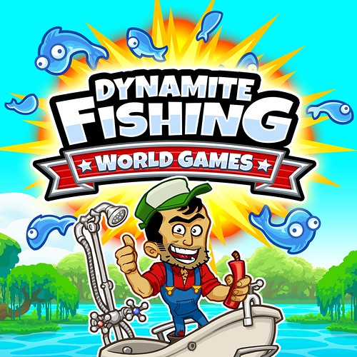 Dynamite Fishing -- World Games