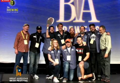 "Port City Brew wins ""Small Brewery of the Year,"" at 2015 GABF."