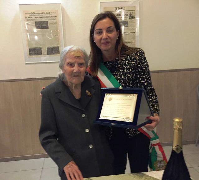 Rutigliano-I primi cento anni di nonna Francesca (1)