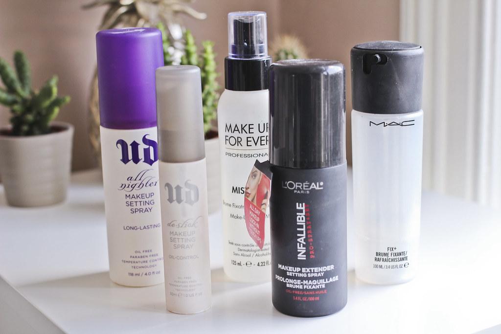 beauty edit: makeup fixers