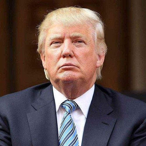 I do not like Donald Trump first of all that hair is horrible I thought it was a comb over but someone told me its his real hair. I don't know why anyone would want a bad comb over look.  I also think he's racist and sexist. I say we trade him to Mexico a