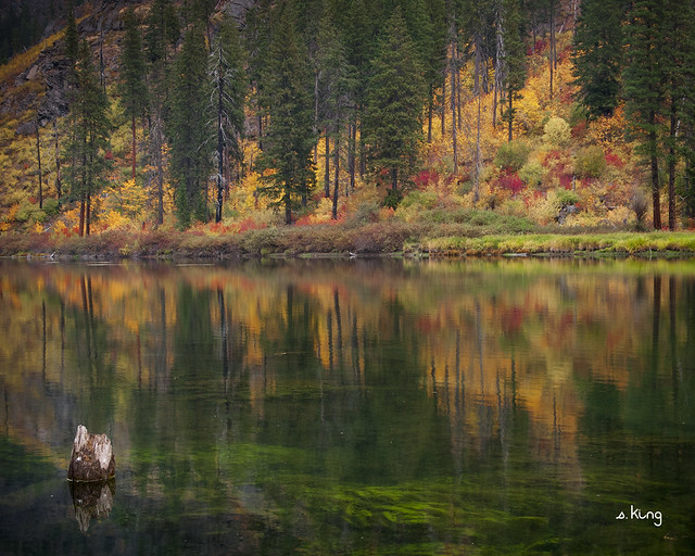 Fall along the Wenatchee River