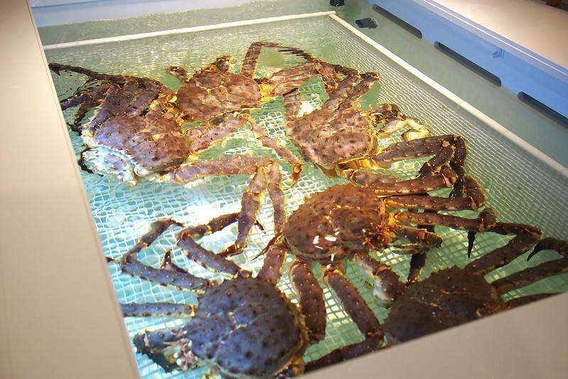 Alaskan crabs, Live Seafood Market. Emporium Shokuhin, Marina Square, 6 Raffles Boulevard, Singapore