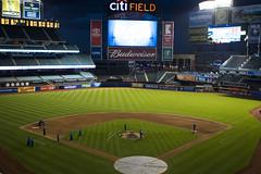 Citi Field after dark