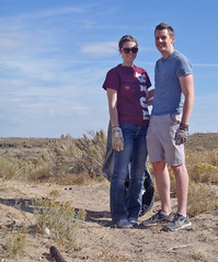 NPLD 2015: BLM Idaho Volunteers Clean-Up Public Lands