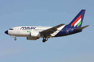 Malev - Hungarian Airlines Boeing 737-6Q8 HA-LON
