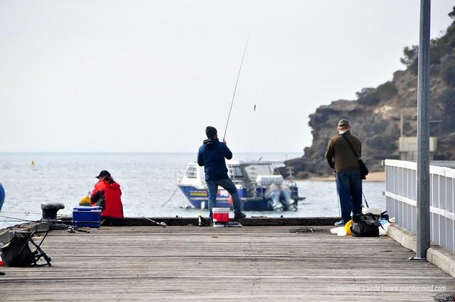 Fishing at Portsea Mornington Peninsula