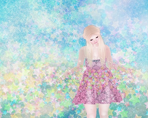 **Honey*Soul-Dazzle-Dress@KIRA KIRA -Twinkle star party