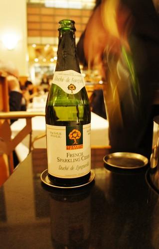 French Sparkling Cider