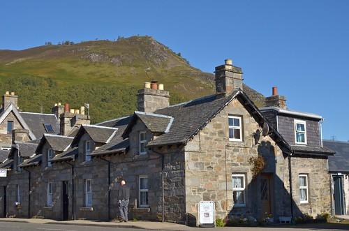 The village of Kinloch Rannoch