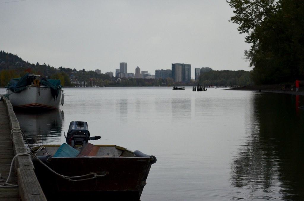 Portland - bocks at dock