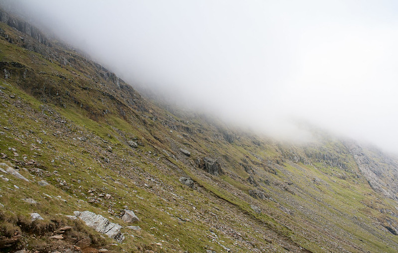 Hill fog on Snowdon