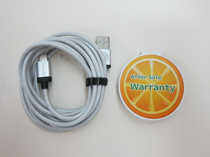 iOrange-E USB Type-C Cable - Box Contents