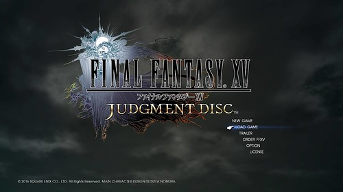 FINAL FANTASY XV JUDGMENT DISC