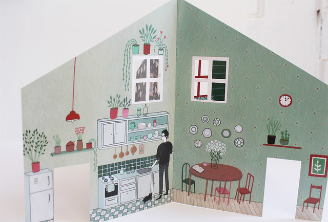fold house - interior 1