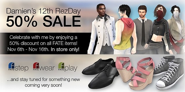 FATE Rezday Sale SL