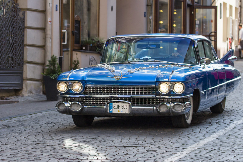 Cadillac DeVille in Vilnius, Lithuania