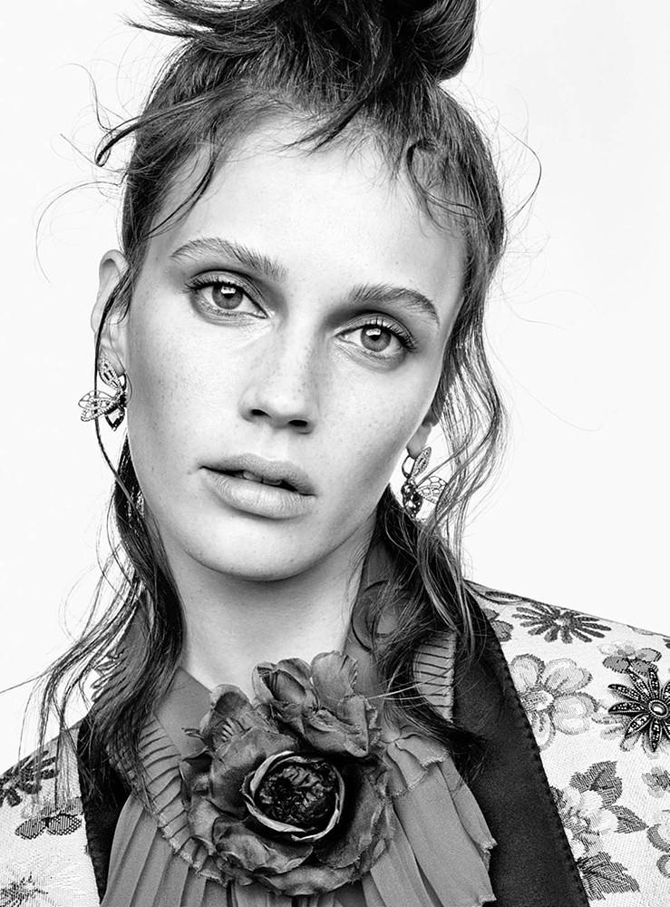 Марина Вакт — Фотосессия для «Vanity Fair» FR 2015 – 4
