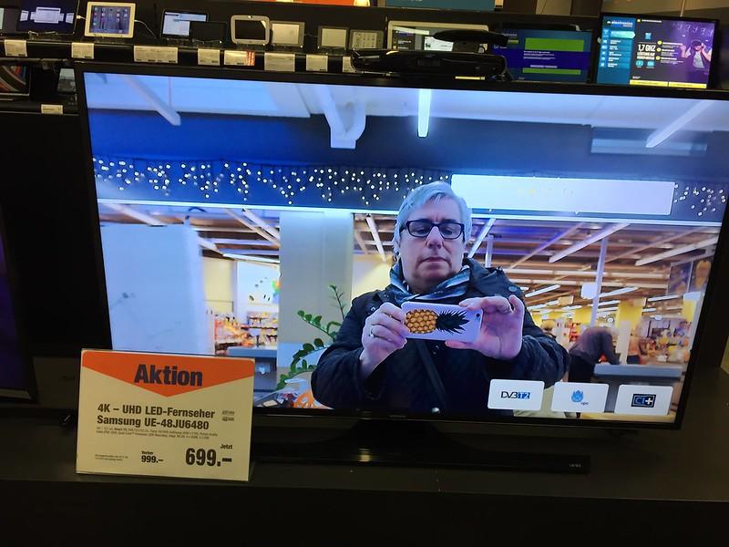 Me on TV Migros Langendorf