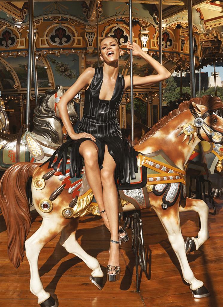 Аня Рубик — Фотосессия для «Bergdorf Goodman» 2016 – 6