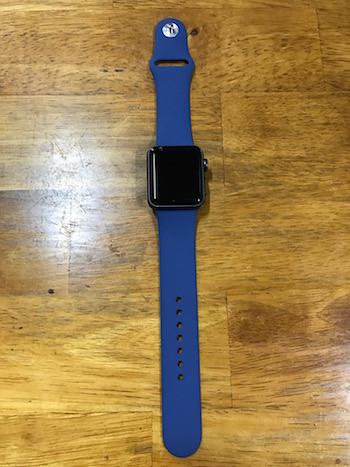 Apple Watch 2に装着