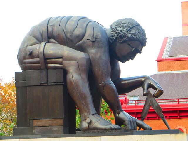 Newton by Paulozzi