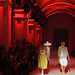 KYIV, UKRAINE - OCTOBER 13, 2016: Models walk on the catwalk during Fashion Show by Rybalko as part of 39th Ukrainian Fashion Week at Mystetskyi Arsenal in Kyiv, Ukraine
