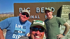 Chris, Gallus, Cliff at Big Bend NP, TX-may16cn01