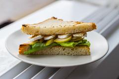 Brie/Pear Sandwich