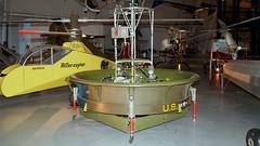 Hiller 1031-A-1 Flying Platform in Udvar-Hazy Center