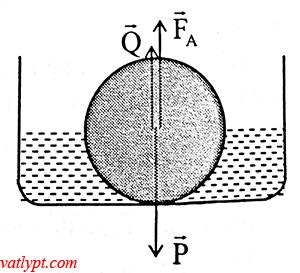 Bài tập nguyên lý Pa-xcan, áp suất thủy tĩnh, lực đẩy Ác-si-mét, vật lý phổ thông