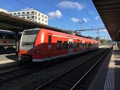 DB Regio train at Shafthaussen in Switzerland