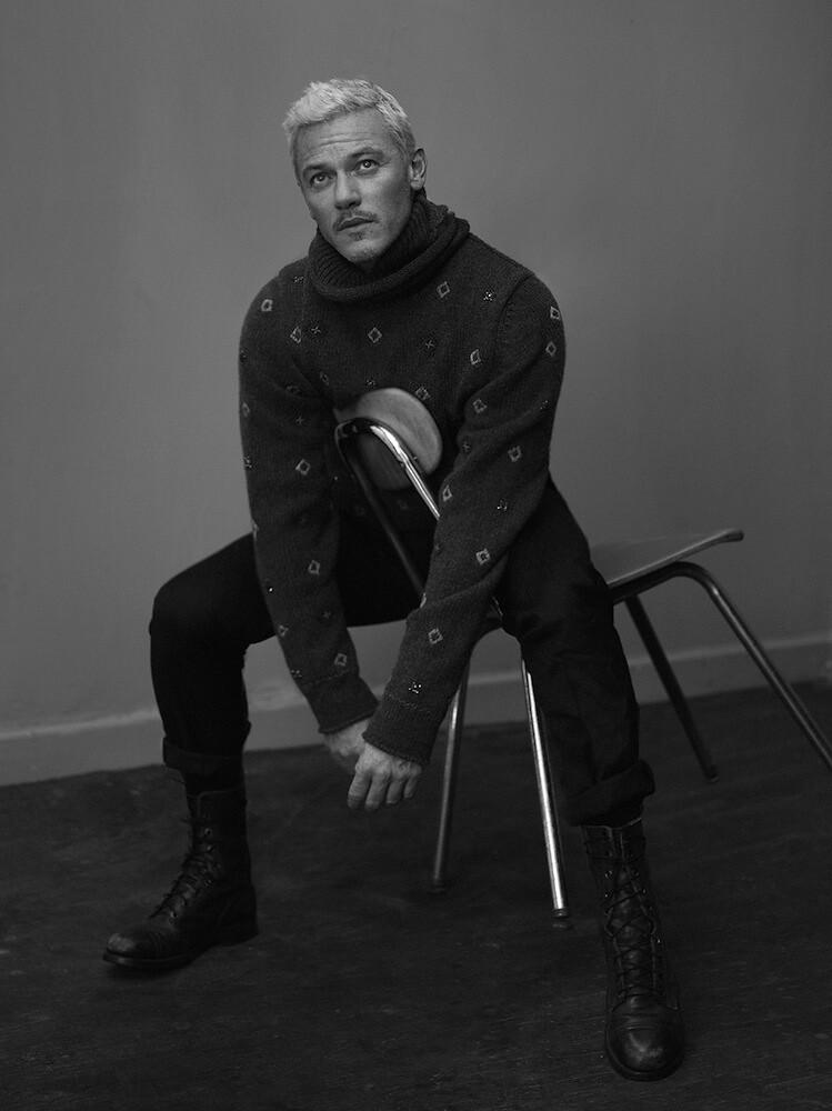 Люк Эванс — Фотосессия для «Interview» 2016 – 2