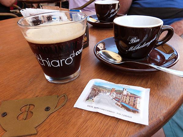 cafés glacés à Pietrasanta
