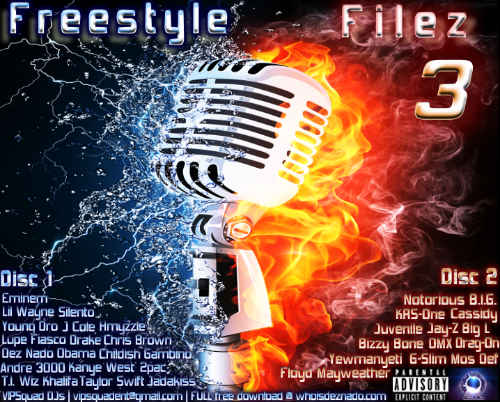 FREESTYLE FILEZ 3 Cover OFFICIAL