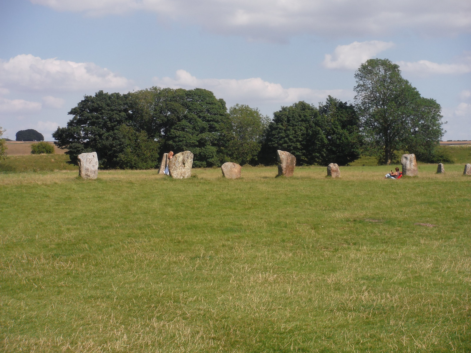 Avebury Standing Stones, SW quartile SWC Walk 255 Pewsey or Marlborough Circular via Avebury